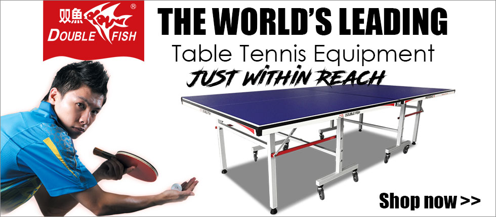 Double Fish Table Tennis Table