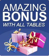 Amazing Bonus with all table