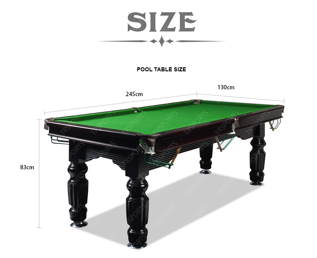FT Slate Pool Table Table TennisPoker Top - Pool table description