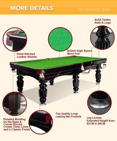 New 10ft luxury green slate pool snooker billiard table ebay for 10 ft billiard table