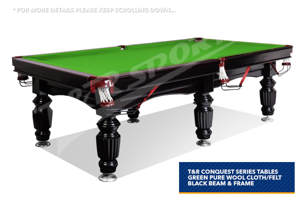 New 10ft luxury green slate pool snooker billiard for 10 foot snooker table