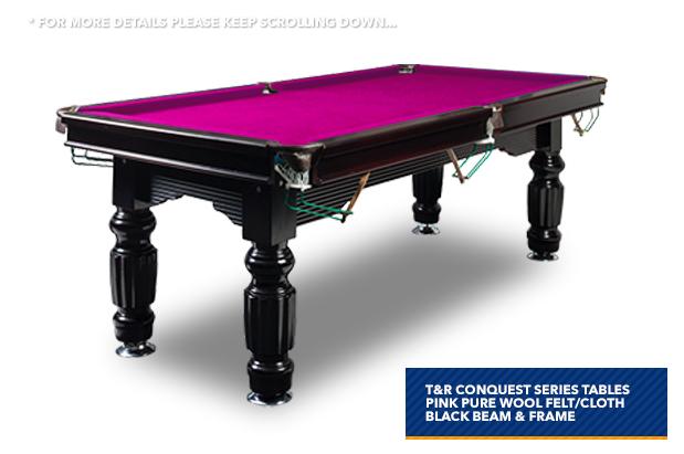 Description Double Happiness Mm - Pink pool table felt