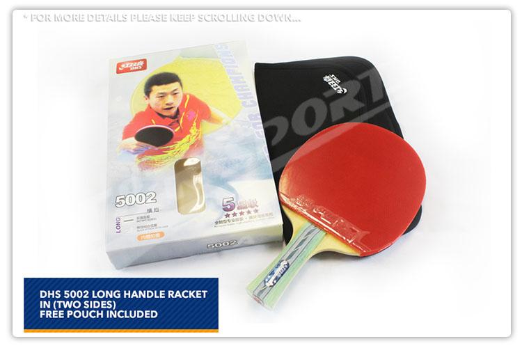 DHS 5 Star Table Tennis Bat Racket 30e96538357c4