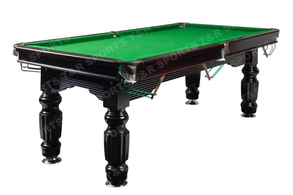 8ft size slate solid timber billiards pool table for 1 slate pool table
