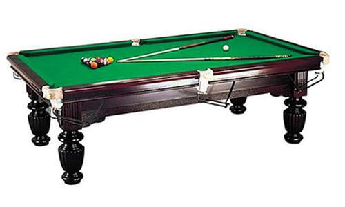 8FT PUB SIZE LUXURY SLATE TIMBER BILLARDS/POOL TABLE