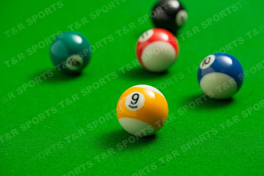 ... Pool Ball Set Plastic Triangle Rack Ball Tray ...